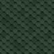 Битумная черепица Шинглас Ультра Самба Зеленый