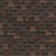Битумная черепица Шинглас Классик Кадриль Аккорд-коричневый